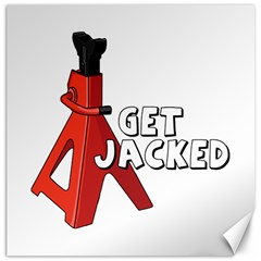 Get Jacked Canvas 20  X 20  (unframed) by hoddynoddy