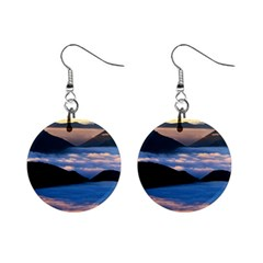 Scenic 1  Button Earrings from CowCow.com Front