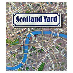Scotland Yard Tile Drawing Bag Small By Curtisc   Drawstring Pouch (small)   O15lkp9yklkp   Www Artscow Com Front