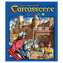 Carcassonne Tile Drawing Bag With Score Tracker Small By Curtisc   Drawstring Pouch (small)   Fmfeecd61mq0   Www Artscow Com Front