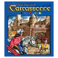 Carcassonne Tile Drawing Bag With Score Tracker Medium By Curtisc   Drawstring Pouch (medium)   N183a795a40z   Www Artscow Com Front