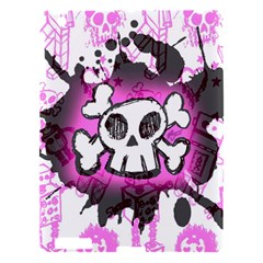 Cartoon Skull  Apple Ipad 3/4 Hardshell Case by ArtistRoseanneJones