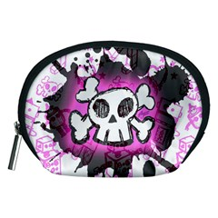 Cartoon Skull  Accessory Pouch (medium)
