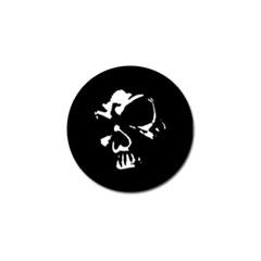 Gothic Skull Golf Ball Marker 10 Pack by ArtistRoseanneJones
