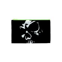 Gothic Skull Cosmetic Bag (xs) by ArtistRoseanneJones