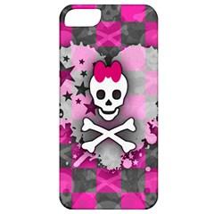 Princess Skull Heart Apple Iphone 5 Classic Hardshell Case by ArtistRoseanneJones