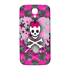 Princess Skull Heart Samsung Galaxy S4 I9500/i9505  Hardshell Back Case