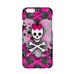 Princess Skull Heart Apple Iphone 6 Hardshell Case