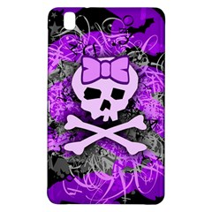 Purple Girly Skull Samsung Galaxy Tab Pro 8 4 Hardshell Case by ArtistRoseanneJones