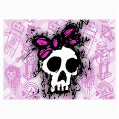Sketched Skull Princess Canvas 20  X 30  (unframed) by ArtistRoseanneJones