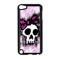 Sketched Skull Princess Apple Ipod Touch 5 Case (black) by ArtistRoseanneJones