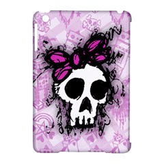 Sketched Skull Princess Apple Ipad Mini Hardshell Case (compatible With Smart Cover) by ArtistRoseanneJones