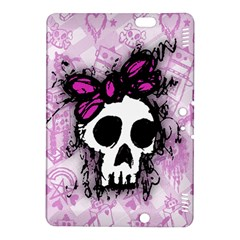 Sketched Skull Princess Kindle Fire Hdx 8 9  Hardshell Case by ArtistRoseanneJones