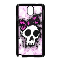 Sketched Skull Princess Samsung Galaxy Note 3 Neo Hardshell Case (black) by ArtistRoseanneJones
