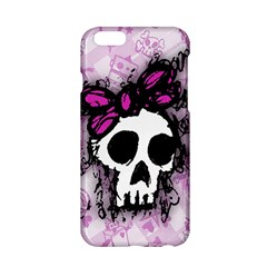 Sketched Skull Princess Apple Iphone 6 Hardshell Case
