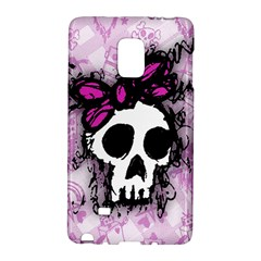 Sketched Skull Princess Samsung Galaxy Note Edge Hardshell Case by ArtistRoseanneJones