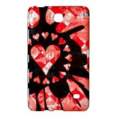Love Heart Splatter Samsung Galaxy Tab 4 (8 ) Hardshell Case