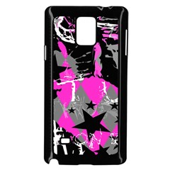 Pink Scene Kid Samsung Galaxy Note 4 Case (black)