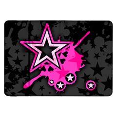 Pink Star Graphic Samsung Galaxy Tab 8 9  P7300 Flip Case by ArtistRoseanneJones