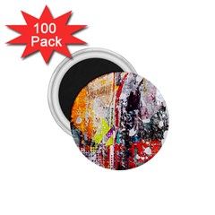 Abstract Graffiti 1 75  Button Magnet (100 Pack) by ArtistRoseanneJones