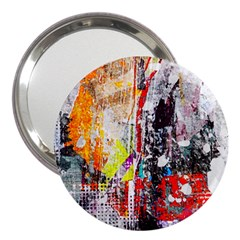 Abstract Graffiti 3  Handbag Mirror by ArtistRoseanneJones