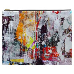 Abstract Graffiti Cosmetic Bag (XXXL) by ArtistRoseanneJones