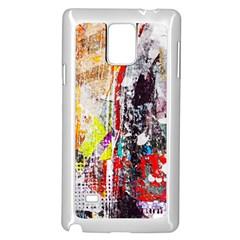 Abstract Graffiti Samsung Galaxy Note 4 Case (white) by ArtistRoseanneJones