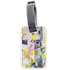 Graffiti Graphic Luggage Tag (two Sides) by ArtistRoseanneJones