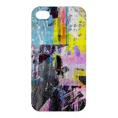 Graffiti Pop Apple Iphone 4/4s Premium Hardshell Case by ArtistRoseanneJones