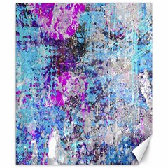 Graffiti Splatter Canvas 8  X 10  (unframed) by ArtistRoseanneJones