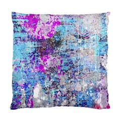 Graffiti Splatter Cushion Case (single Sided)  by ArtistRoseanneJones