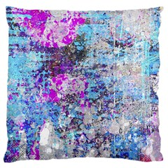 Graffiti Splatter Large Cushion Case (single Sided)