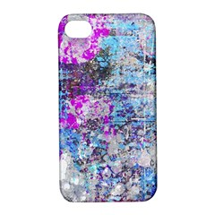 Graffiti Splatter Apple Iphone 4/4s Hardshell Case With Stand by ArtistRoseanneJones
