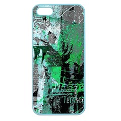Green Urban Graffiti Apple Seamless Iphone 5 Case (color)