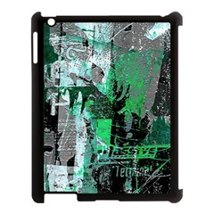 Green Urban Graffiti Apple Ipad 3/4 Case (black)