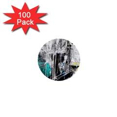Urban Funk 1  Mini Button (100 Pack) by ArtistRoseanneJones