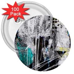 Urban Funk 3  Button (100 Pack) by ArtistRoseanneJones