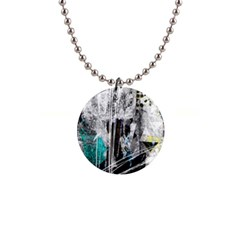 Urban Funk Button Necklace by ArtistRoseanneJones