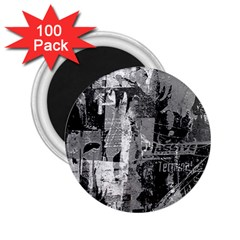 Urban Graffiti 2 25  Button Magnet (100 Pack) by ArtistRoseanneJones