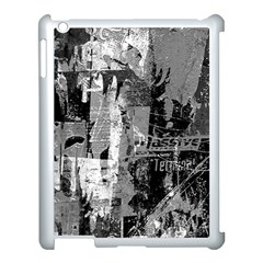 Urban Graffiti Apple Ipad 3/4 Case (white) by ArtistRoseanneJones