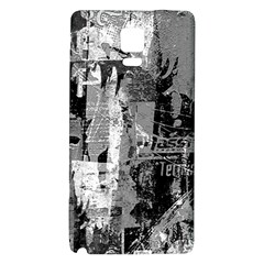 Urban Graffiti Samsung Note 4 Hardshell Back Case by ArtistRoseanneJones