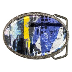 Urban Grunge Belt Buckle (oval)