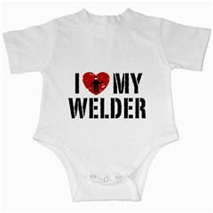 Love Weld Infant Creeper by BadAssWelder