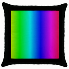 Crayon Box Black Throw Pillow Case by Artists4God