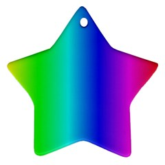 Crayon Box Star Ornament (two Sides) by Artists4God