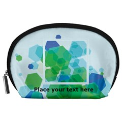Abstract Pouch (l) By Joy   Accessory Pouch (large)   Wfx6x3kn8m6q   Www Artscow Com Front