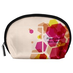 Abstract Pouch (l) By Joy   Accessory Pouch (large)   B7q6bq401rwg   Www Artscow Com Front