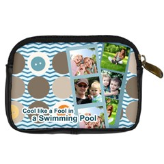 Summer By Summer Time    Digital Camera Leather Case   Y9mbsa4ckdd4   Www Artscow Com Back