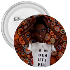 I Am Beautiful   Nzinga 3  Button by tiffanygholar