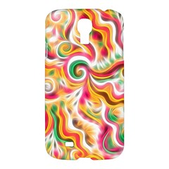 Sunshine Swirls Samsung Galaxy S4 I9500/i9505 Hardshell Case by KirstenStar